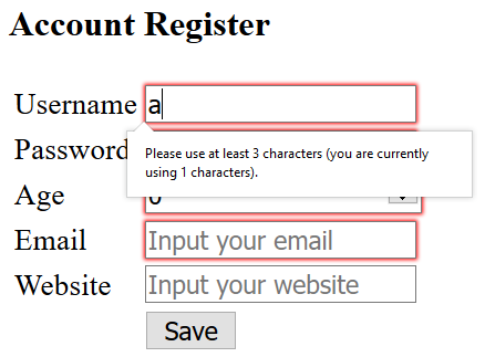 HTML 5 Forms Validation in Spring MVC - Learn Programming with Real Apps