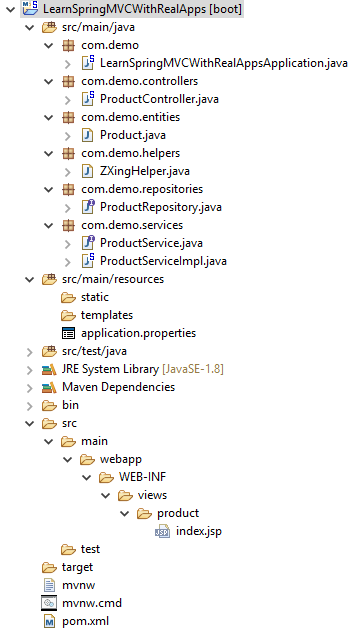 QRCode in Spring MVC Framework and Spring Data JPA - Learn